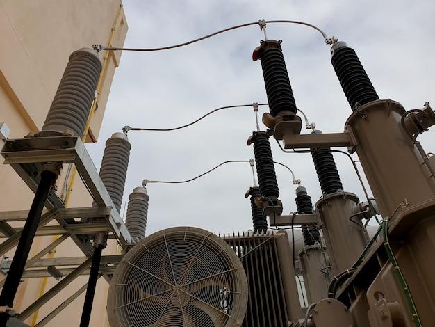 Teste elétrico e inspeção do lado de alta tensão do transformador de potência 11522kv