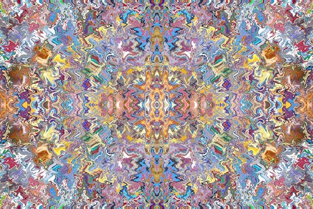 Teste padrão abstrato colorido de mosaico.