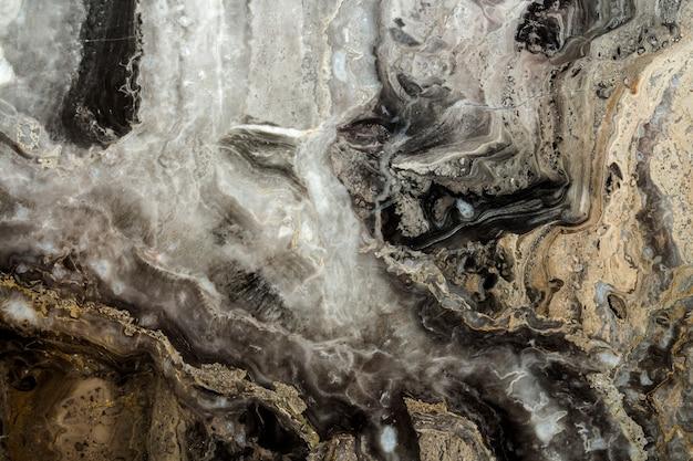 Teste padrão abstrato de mármore preto do fundo com alta resolução. fundo do vintage ou do grunge da textura velha de pedra natural da parede.
