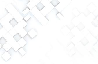 Teste padrão aleatório da caixa da forma quadrada no fundo do espaço da cópia.
