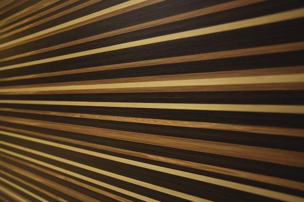 Teste padrão listrado no fundo superfície de madeira