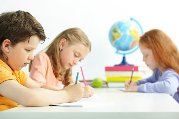 Teste surpresa em sala de aula