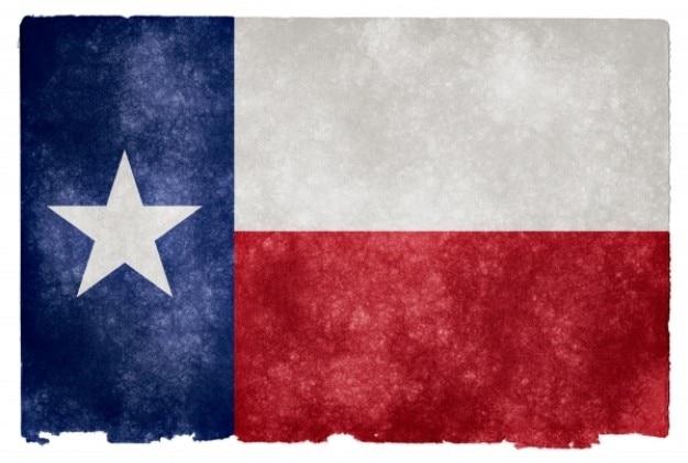 Texas grunge bandeira