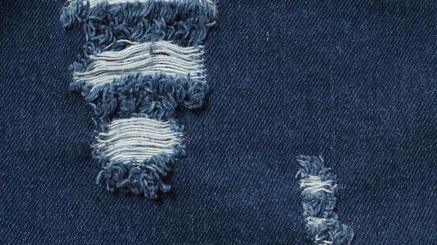 Têxteis de jeans para textura e plano de fundo.