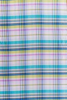 Têxteis de padrão quadriculada sem costura