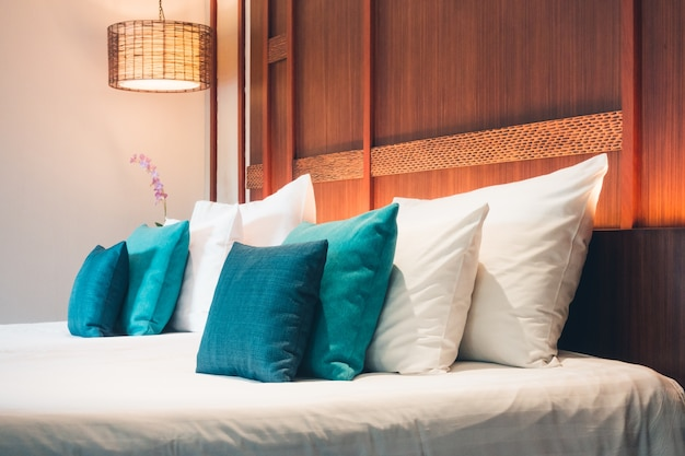 Têxtil almofada de tecido sala de lâmpada