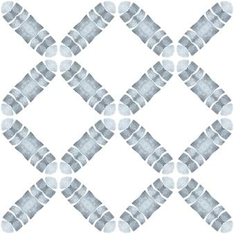 Têxtil pronto para estampa maravilhosa, tecido de banho, papel de parede, embrulho. design chique do verão do boho indelével preto e branco. borda desenhada da mão árabe oriental. design desenhado à mão arabesco.