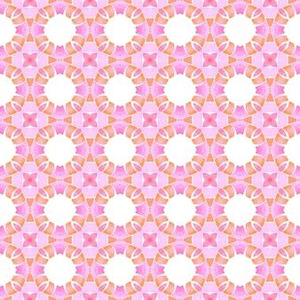 Têxtil pronto para impressão divina, tecido de biquíni, papel de parede, embrulho. projeto real do verão chique do boho laranja. fronteira sem costura exótica de verão. padrão sem emenda exótico.