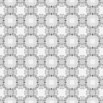 Têxtil pronto para impressão imaculada, tecido de biquíni, papel de parede, embrulho. projeto chique do verão do boho elegante preto e branco. design desenhado à mão arabesco. borda desenhada da mão árabe oriental.