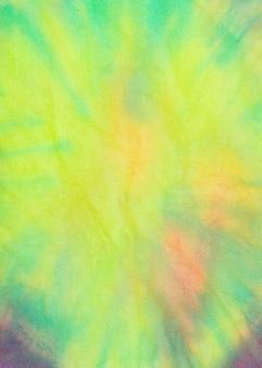 Têxtil tie-dye multicolorido