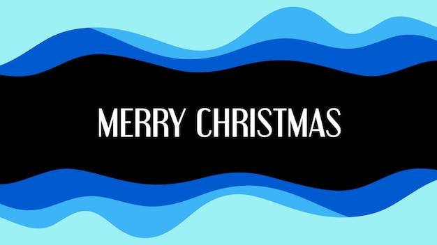 Texto de feliz natal e formas geométricas abstratas, fundo de memphis. estilo de ilustração 3d elegante e luxuoso para negócios e modelo corporativo