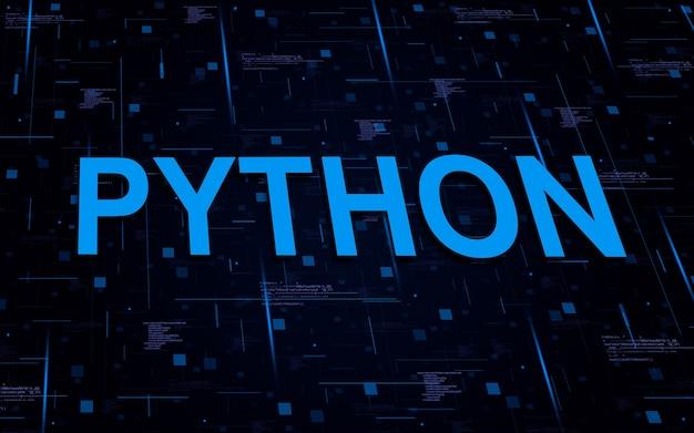 Texto de programação python