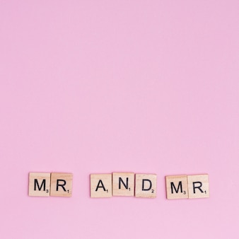 Texto lgbt mr and mr