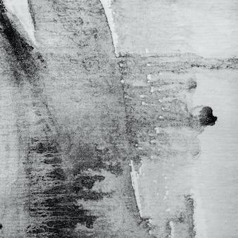 Textura abstrata aquarela preto e branco.