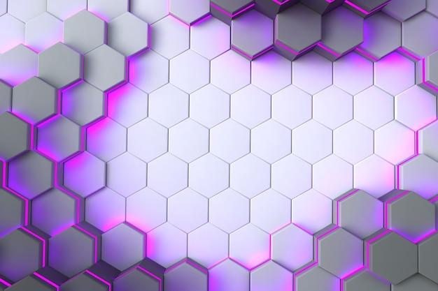 Textura abstrata branca