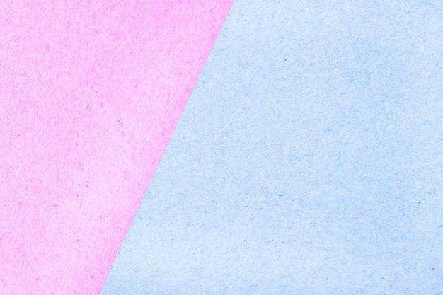 Textura abstrata de cor pastel caixa de papel de superfície para plano de fundo, rosa e azul