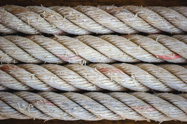 Textura abstrata de fundo vintage de corda. espaço closeup e cópia.