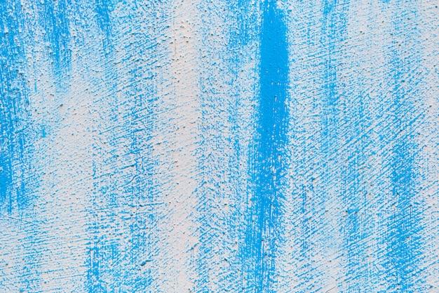 Textura abstrata de gesso azul com dispersão