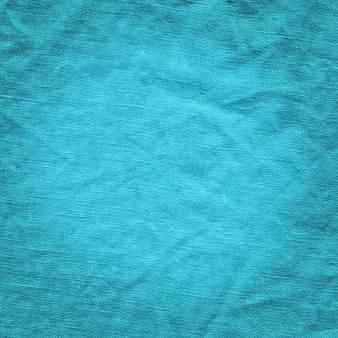 Textura abstrata de lona azul.