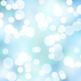 Textura abstrata de luzes de natal de bokeh