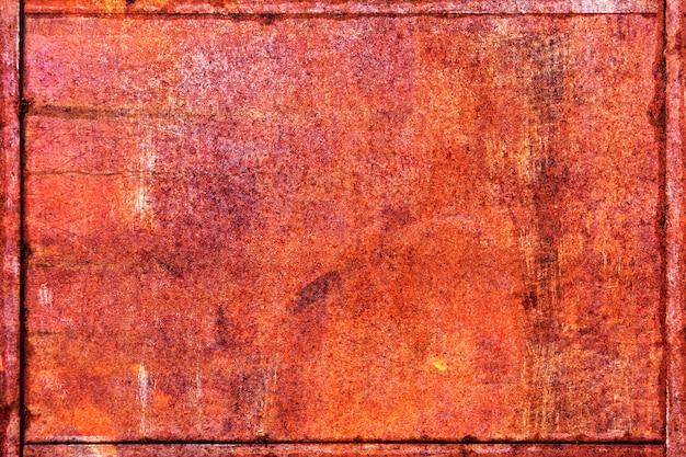 Textura abstrata de metal enferrujado