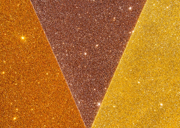 Textura abstrata de ouro em tons de luz amarelos gradientes