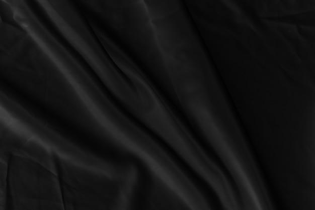 Textura abstrata de tecido preto