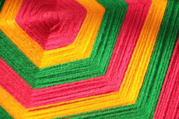 Textura abstrata linha colorida