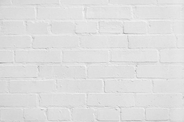 Textura abstrata manchada de parede de tijolo de estuque branco