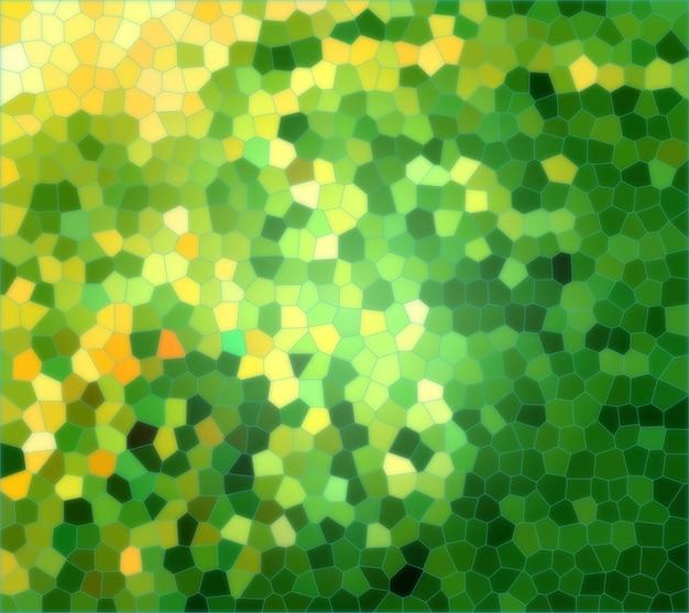 Textura amarela e verde