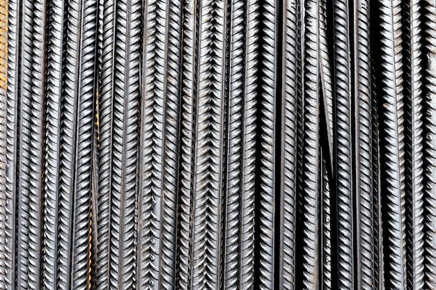 Textura áspera da superfície metálica