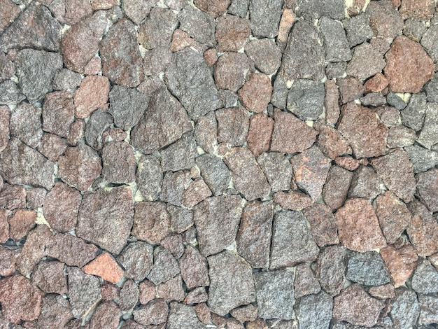 Textura áspera de pedras