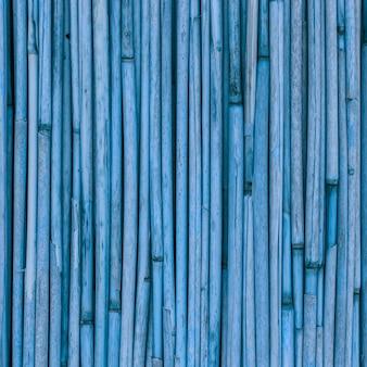 Textura azul de juncos ou bambu para o fundo