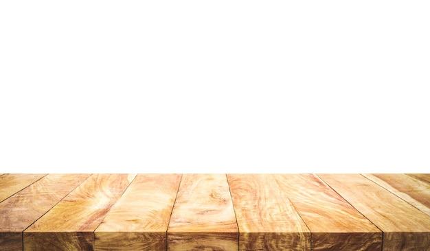 Textura bonita textura de mesa de madeira isolada