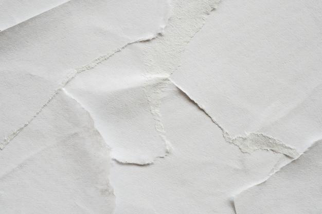 Textura branca danificada do pôster