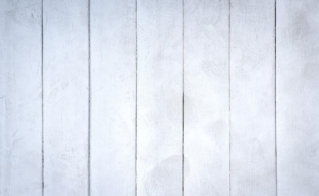Textura branca de pranchas de madeira resistidas.