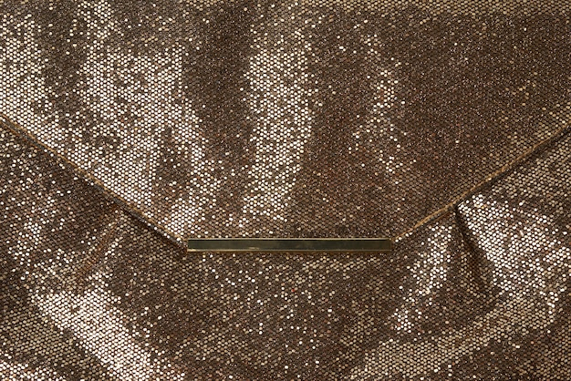 Textura brilhante de couro dourado,