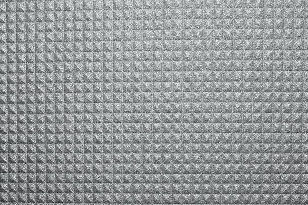 Textura cinza de tapete de ioga