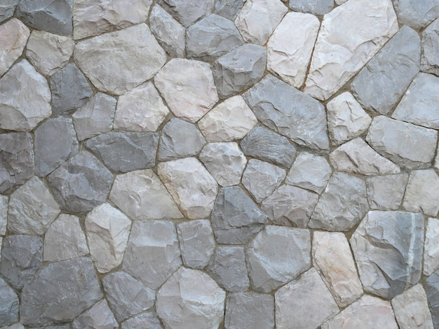 Textura cinzenta abstrata da parede de pedra para o fundo.