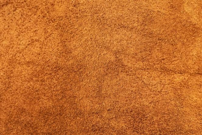 Textura closeup de camurça de couro