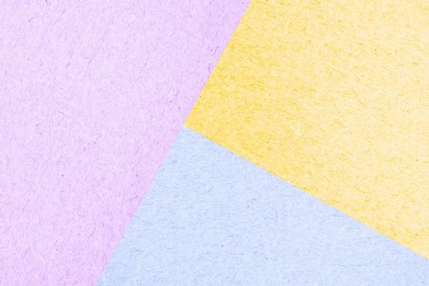 Textura colorida colorida de caixa de papel de superfície abstrata para plano de fundo, cor pastel