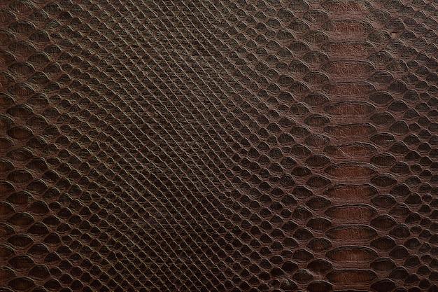 Textura composta por células marrons, semelhante à pele de uma cobra