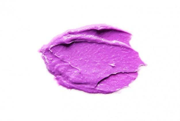 Textura cosmética para rosto e corpo. foco seletivo de spa.