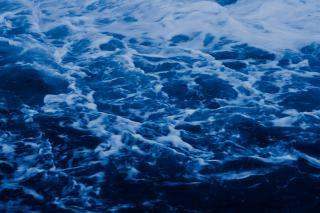 Textura da água azul