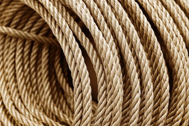 Textura da corda para o trabalho de arte do fundo e do projeto.