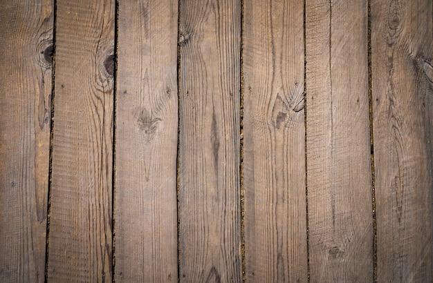 Textura da fatura natural da árvore do fundo velho das placas de madeira do vintage.