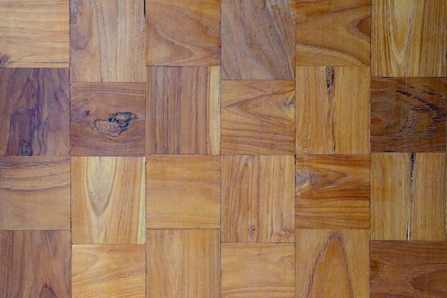 Textura da madeira de madeira do marrom do fundo da parede.
