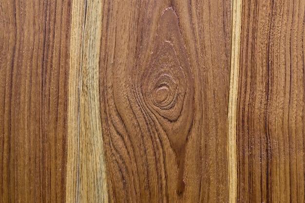 Textura da madeira serrada da teca, feita da árvore da teca.