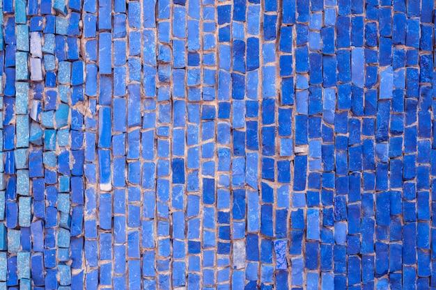Textura da parede colorida do mosaico do vintage.