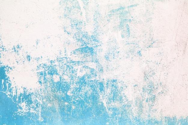 Textura da parede da rua da superfície de concreto do azul